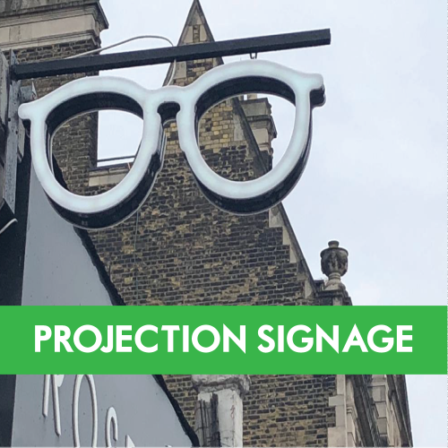 Projection Signage